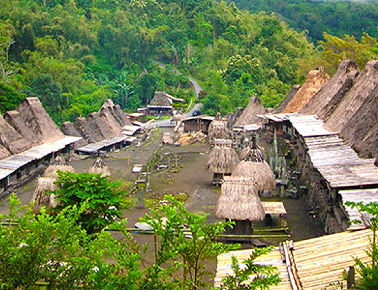 Bena Village Bajawa Flores Indonesia
