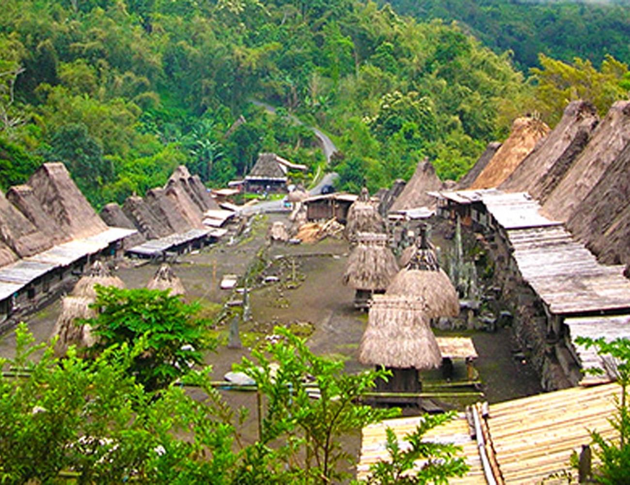 Bena Village Bajawa Flores Indonesia